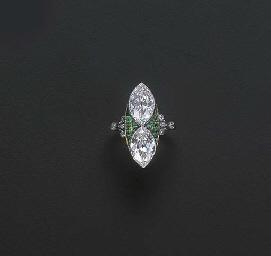 A BELLE EPOQUE DIAMOND AND EME