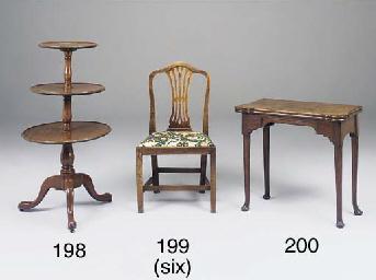 A set of six George III countr