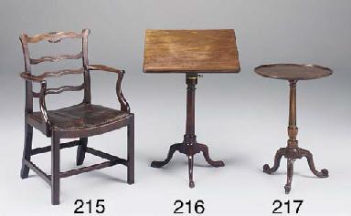 A George III mahogany ladderba