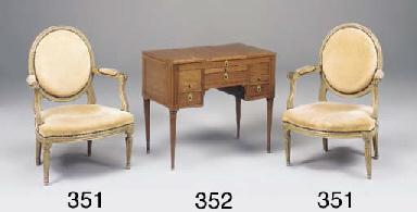 A Louis XVI mahogany dressing