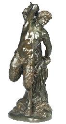 An Italian bronze figure of Ma