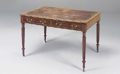 A George IV mahogany partners