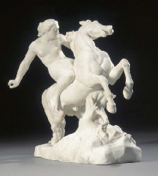 A Minton parian figure of an A