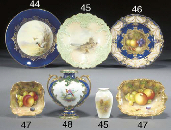 A Royal Crown Derby two-handle