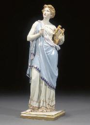 A large Meissen allegorical fi