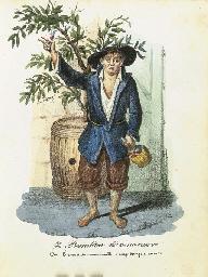 LINDSTROEM, Carl Jakob. Costum