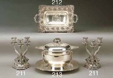 Basket in argento Giorgio IV,