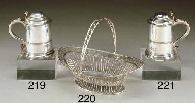 Basket Giorgio III in argento,