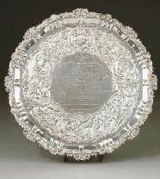 Salver in argento William IV,