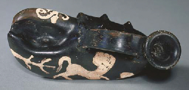 AN ATTIC RED-FIGURED FIGURAL A