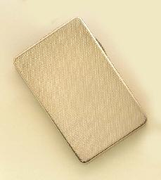 A 9CT. GOLD BOX