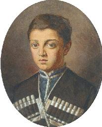 A Portrait of a Caucassian Boy