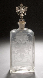 A glass flask