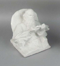 A porcelain model of Tolstoy