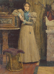 Portrait of Clothilde Enid, da