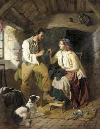 Courting the seamstress