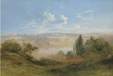 A view of the Stoke potteries