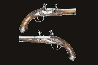 A PAIR OF 32-BORE SMALL TUSCO-