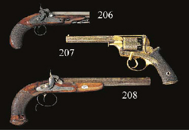 A FINE PAIR OF 54-BORE RIFLED