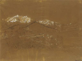 Vue d'un châlet à Sallanches