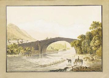 Vue du Pont Saint-Martin, le M