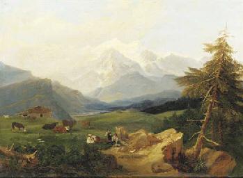 Vue de la vallée de l'Arve ani