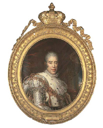 Portrait du roi Charles X