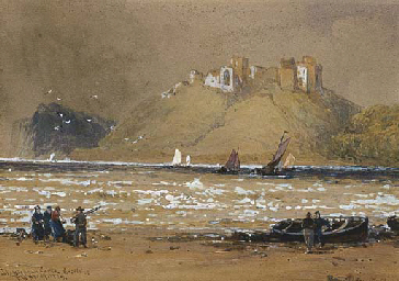 Llan Stephen Castle, South Wal