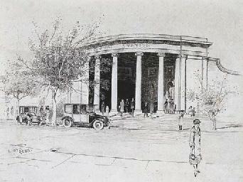 Elizabeth Street Entrance, Cen