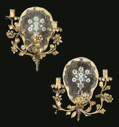A PAIR OF VENETIAN ROCOCO STYL