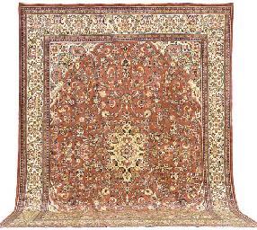 A fine Sarouk-Mahal carpet, We