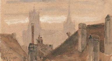Blick auf die Kathedrale von L
