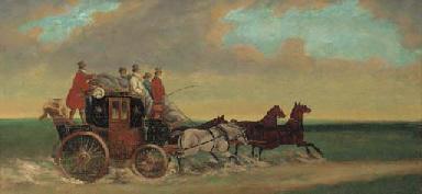 The Salisbury mail coach