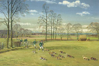 Catterick Beagles in the Vale