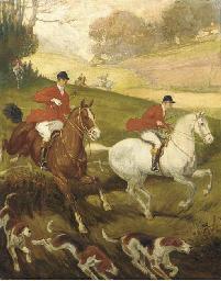 In full gallop