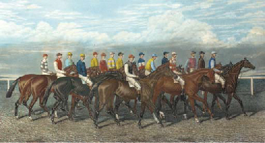 Leading Jockey's of their day,