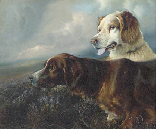 Setters on a moor