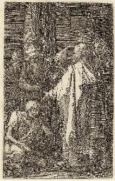 St. Peter and St. John healing