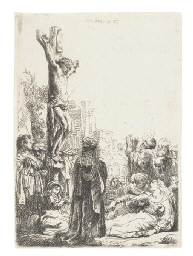 The Crucifixion: Small Plate (