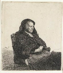 The Artist's Mother seated at
