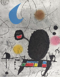One Plate, from Miró. Oiseau s