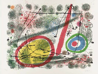 One Plate, from Miró. Cartones