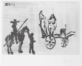 Don Quichotte rencontrant Dulc