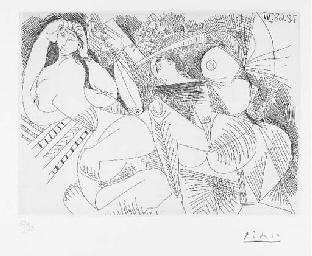 La Sieste: Deux Femmes, from S