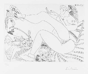 Fumeur d'Opium, Femme en Panto