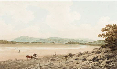 Loughor sands, Gower