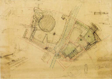 An original architectural plan