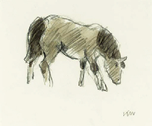 Study of a Welsh Pony