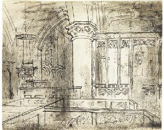 Church Interior, Wiltshire