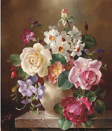 Still Life with Roses, Narciss